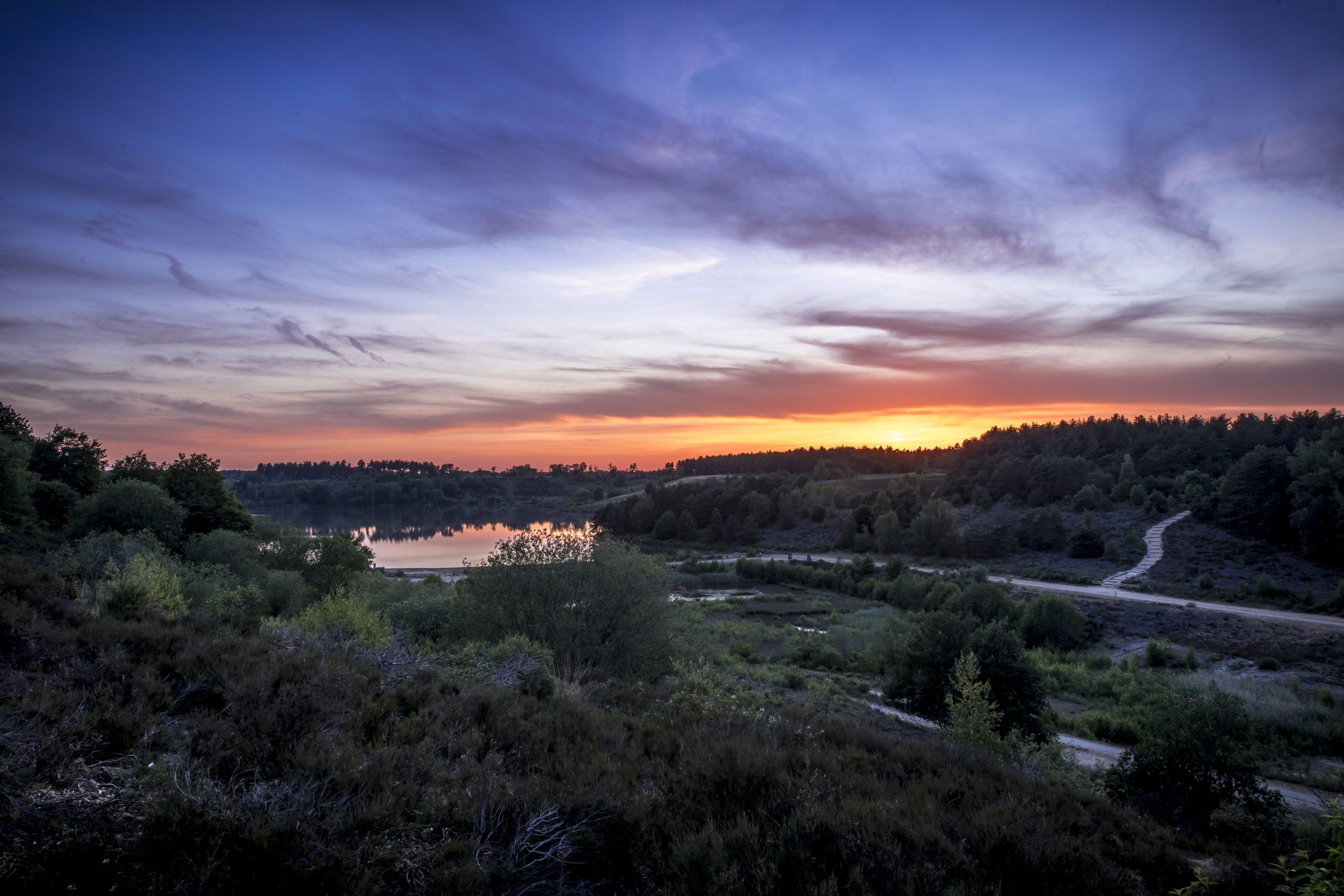 Coucher de soleil Mechelse Heide